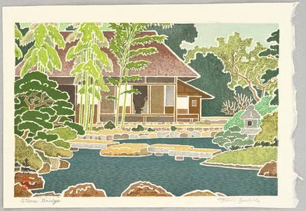 Yoshida Toshi: Stone Bridge - Artelino