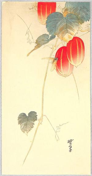 無款: Bee and Red Fruit - Artelino
