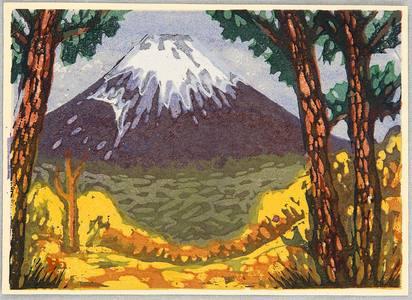 Yamaguchi Gen: Mt. Fuji - Artelino