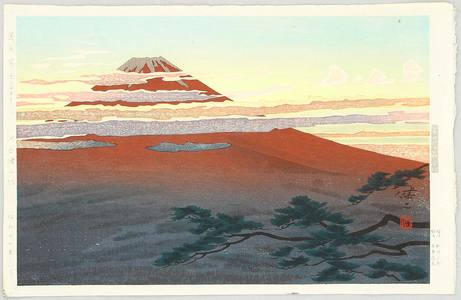 Kusaka Kenji: Mt.Fuji Seen from Numazu - Artelino
