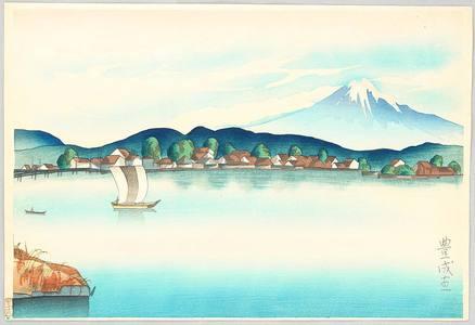 Yamamura Toyonari: View of Fuji from Izu - Artelino