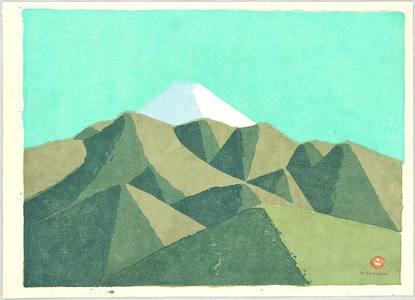 Azechi Umetaro: Mt. Fuji - 2 - Artelino