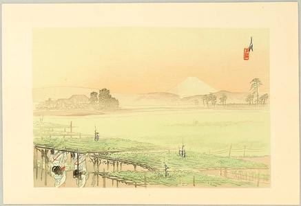 Ogata Gekko: One Hundred Fuji: Fruit Plantation - Artelino