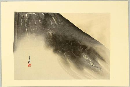 Ogata Gekko: One Hundred Fuji - Dragon in the Mist - Artelino
