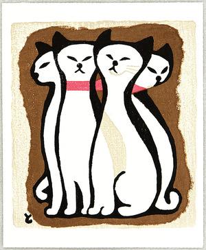 Inagaki Tomoo: Four Cats - Artelino