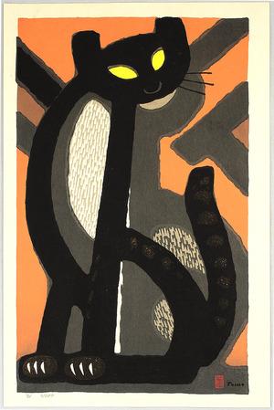Inagaki Tomoo: Long-tailed Cat - Artelino