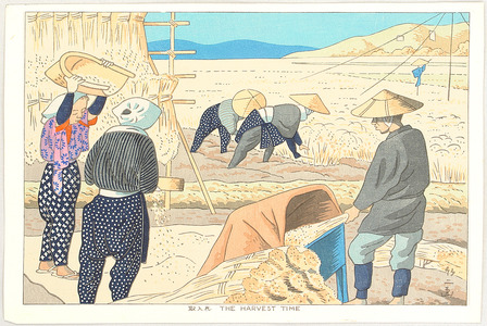 Fujishima Takeji: Harvest Time - Artelino
