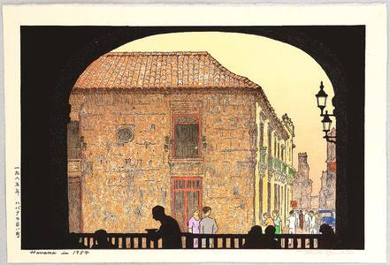 Yoshida Toshi: Havana in 1954 - Artelino