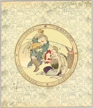 魚屋北渓: Daikoku and Ebisu - Seven Lucky Gods - Artelino