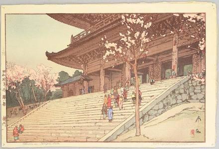 Yoshida Hiroshi: Chion-in Temple - Artelino