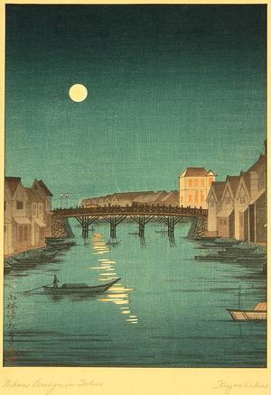 小林清親: Nihonbashi Bridge - Artelino