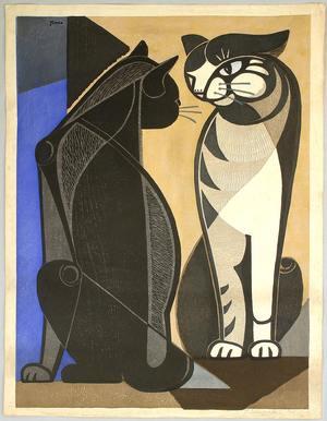 稲垣知雄: Chatting Cats - Artelino