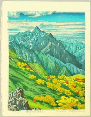 Morozumi Osamu: Mt. Yari in the Autumn - Japan - Artelino