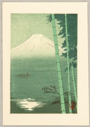 Unknown: Bamboo, Fuji, Lake - Artelino