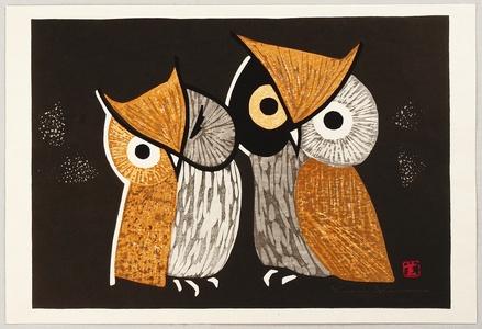 Kawano Kaoru: Owls - Artelino