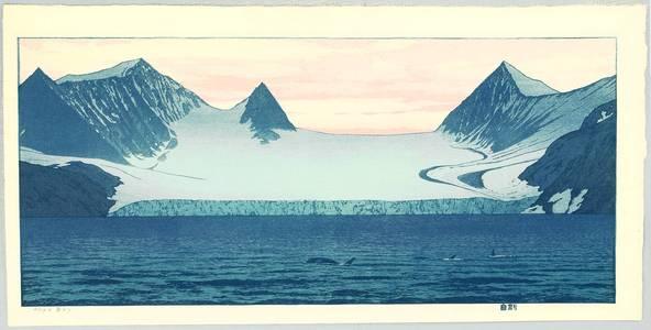吉田遠志: Hope Bay - Glacier and Orca - Artelino