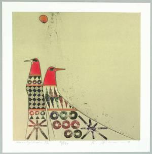 Amano Kunihiro: Morning Moon 72 - Artelino