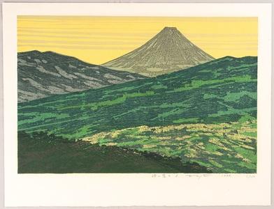 Kitaoka Fumio: Viewing Mt.Fuji from a Pass - A - Artelino