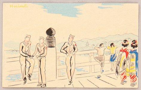 Wada Sanzo: American Solders in the New Japan - Artelino