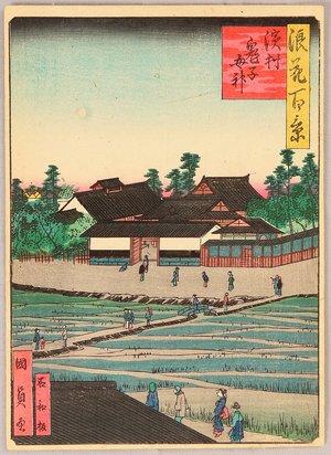 Utagawa Kunikazu: Hamamura and Mt. Chausu - Hundred Views of Osaka - Artelino