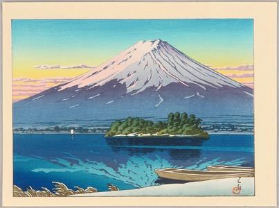 Kawase Hasui: Lake Kawaguchi - Artelino