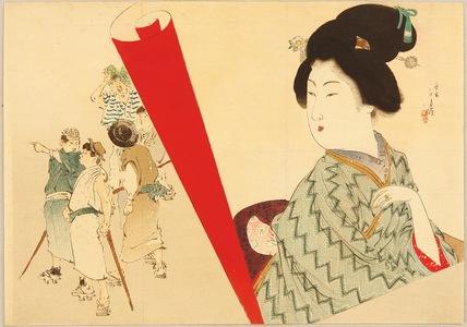 Mizuno Toshikata: Beauty and Tourists - Artelino