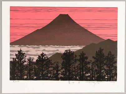 Kitaoka Fumio: Mount Fuji II - Artelino