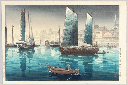 Tsuchiya Koitsu: Akashi Port - Artelino