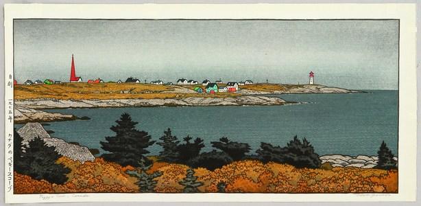 Yoshida Toshi: Peggy�s Cove, Canada - Artelino