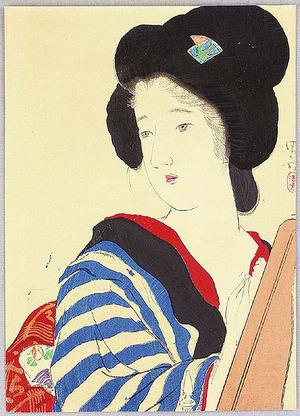 Kaburagi Kiyokata: Red Nail Polish - Artelino