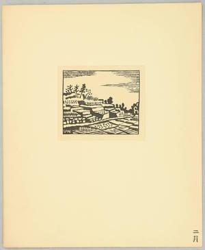 Hiratsuka Unichi: Ize Landscape - Artelino