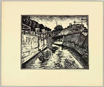 北岡文雄: Kanda River - Face of Tokyo - Artelino