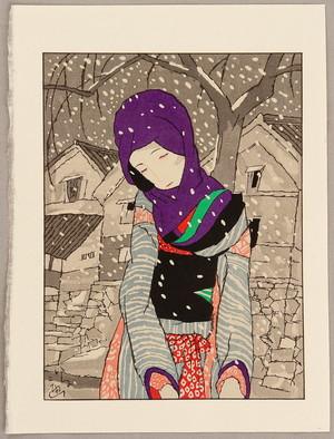 竹久夢二: Snowy Night Legend - Artelino