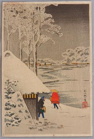 高橋弘明: Night Snow at Ikegami - Artelino