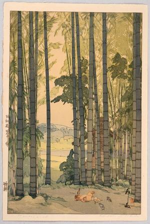 吉田博: Bamboo Wood - Artelino