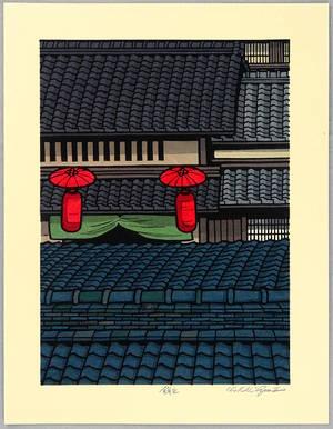 Nishijima Katsuyuki: Roofs in Muromachi - Artelino