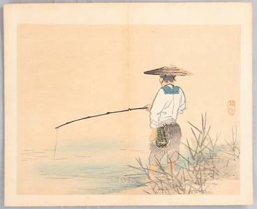 幸野楳嶺: Angler - Artelino