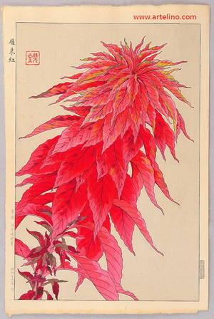 Kawarazaki Shodo: Red Amaranth - Artelino