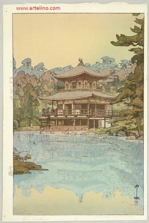 吉田博: Golden Pavilion - Artelino