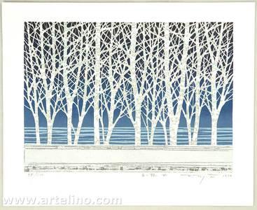 Kitaoka Fumio: White Grove F - Artelino