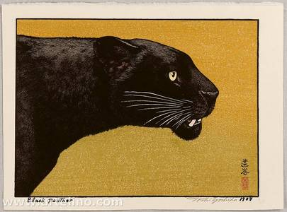 Yoshida Toshi: Black Panther - Artelino