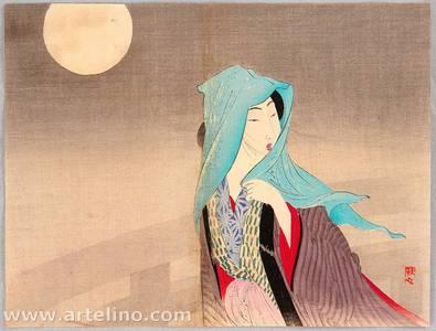 武内桂舟: Full Moon - Artelino