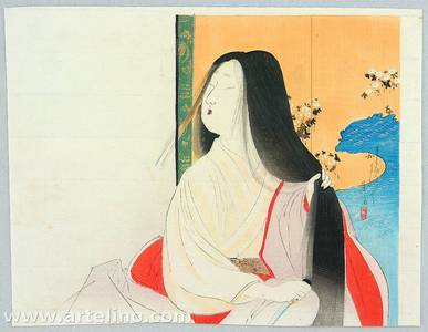 Tomioka Eisen: Long Hair - Artelino