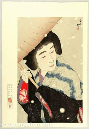 鳥居言人: Large Snowflakes - Twelve Aspects of Women - Artelino