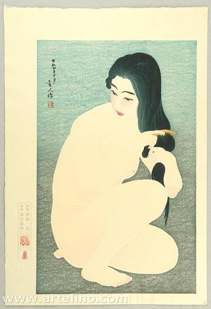 鳥居言人: Coming in the Bath - Twelve Aspects of Woman - Artelino