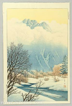 逸見享: Spring Snow at Kamikochi - Artelino