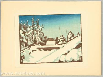 Inagaki Tomoo: Hanga Vol.14. - Clearing after the Snow - Artelino