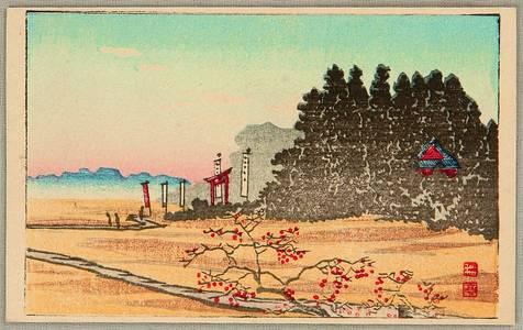 Takahashi Hiroaki: Shrine in Forest - Artelino