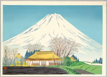 徳力富吉郎: Mt. Fuji from Susono - Artelino