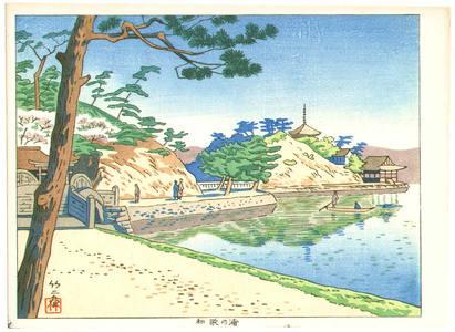 藤島武二: Six Views of Wakayama - Wakanoura Bay - Artelino